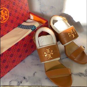 Tory Burch Everly chunky sandals size 8